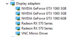client not detecting all GPUs on risers